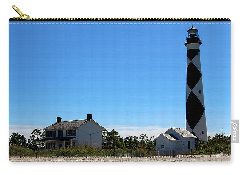Cape Lookout Carry-all Pouch featuring the photograph Cape Lookout Approach by Rand Wall