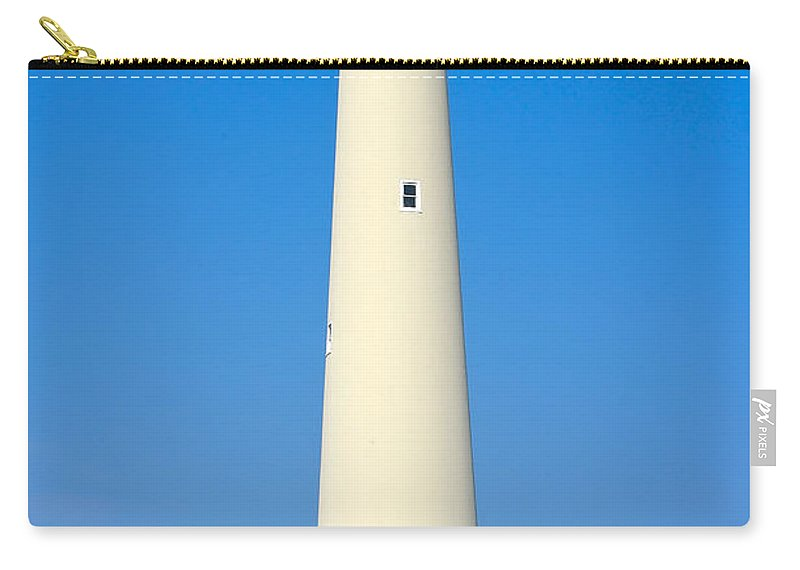 Lighthouses Carry-all Pouch featuring the photograph Cape May Lighthouse by Anthony Sacco