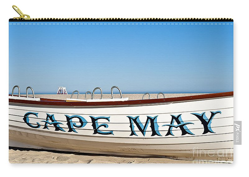 Beach Carry-all Pouch featuring the photograph Cape May New Jersey by John Greim
