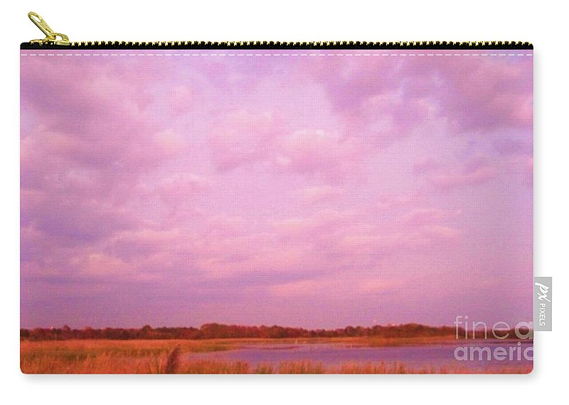 Cape May Point State Park Carry-all Pouch featuring the photograph Cape May Point State Park Landscape by Eric Schiabor