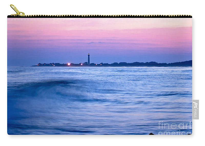 Sea Carry-all Pouch featuring the photograph Cape May Seascape by Anthony Sacco