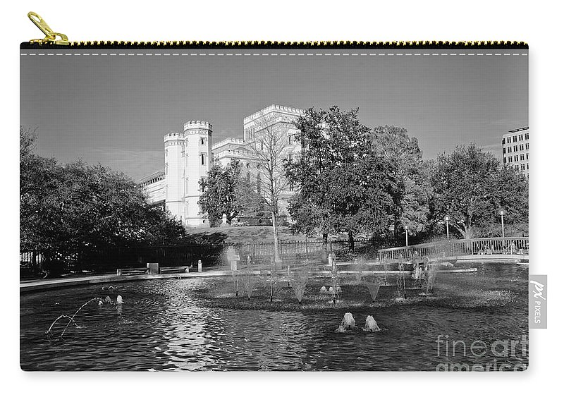 Capital Carry-all Pouch featuring the photograph Capital by Scott Pellegrin