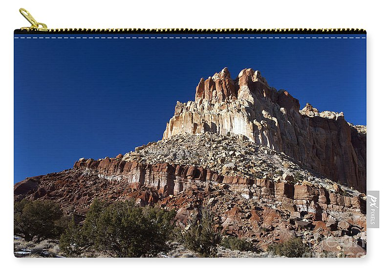 Capitol Reef Carry-all Pouch featuring the photograph Capitol Reef National Park Utah by Jason O Watson