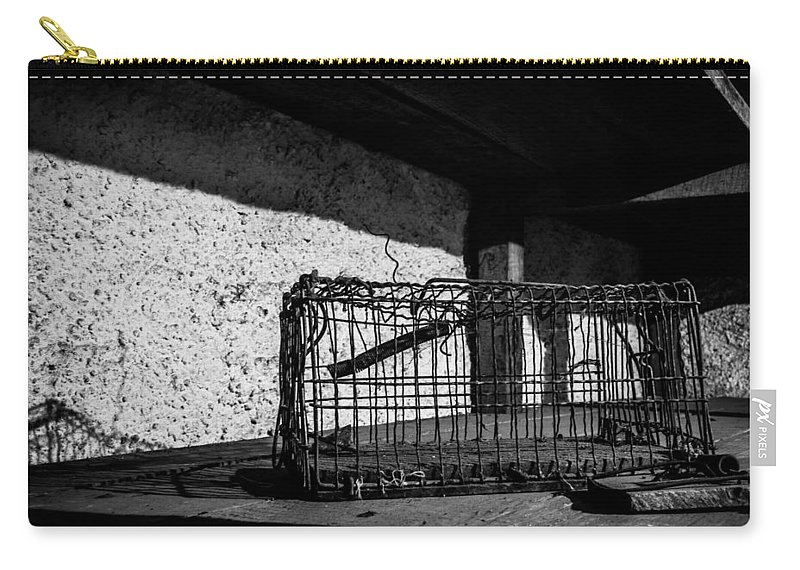 Freedom Carry-all Pouch featuring the photograph Captivity Defied Liberty Attained by Kaleidoscopik Photography