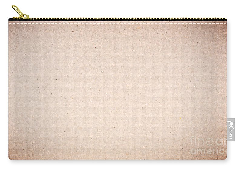 Packing Carry-all Pouch featuring the photograph Cardboard Background by Tim Hester