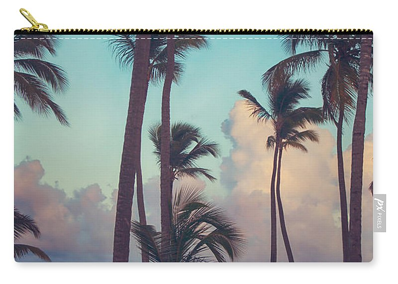 Punta Cana Carry-all Pouch featuring the photograph Caribbean Dreams by Laurie Search