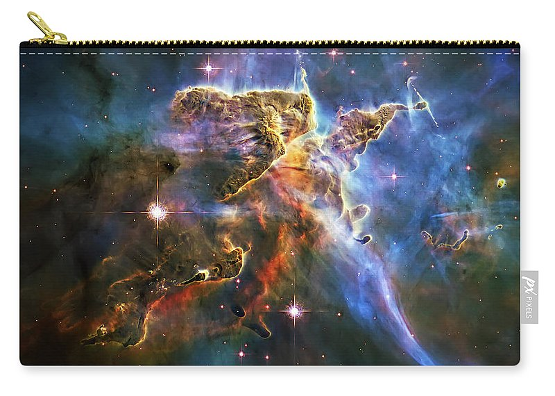 Universe Carry-all Pouch featuring the photograph Carina Nebula 6 by Jennifer Rondinelli Reilly - Fine Art Photography