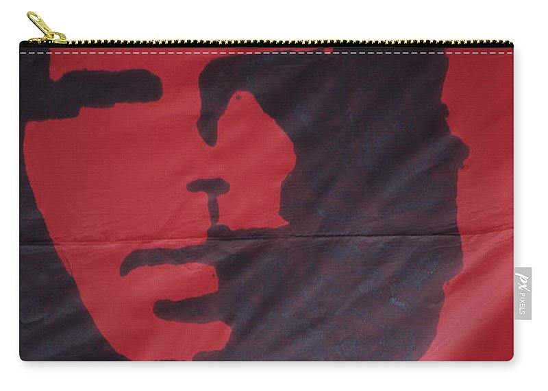 Che Guevara Carry-all Pouch featuring the photograph Caring Che by James Brunker