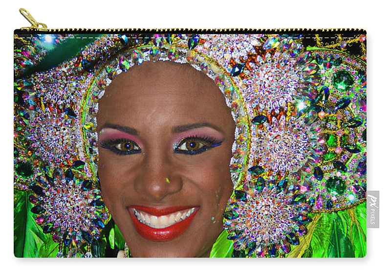 Panama Carry-all Pouch featuring the photograph Carnaval Beauty by Bob Hislop