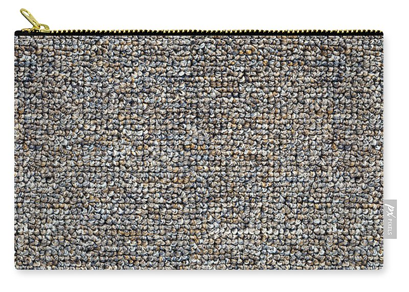 Background Carry-all Pouch featuring the photograph Carpet Texture by Tim Hester