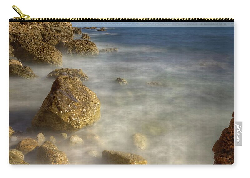 Outdoors Carry-all Pouch featuring the photograph Carry-le-rouet by Philippe Saire - Photography