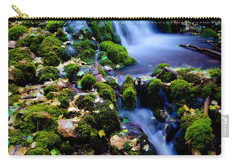 Landscape Carry-all Pouch featuring the photograph Cascade Creek by Chad Dutson
