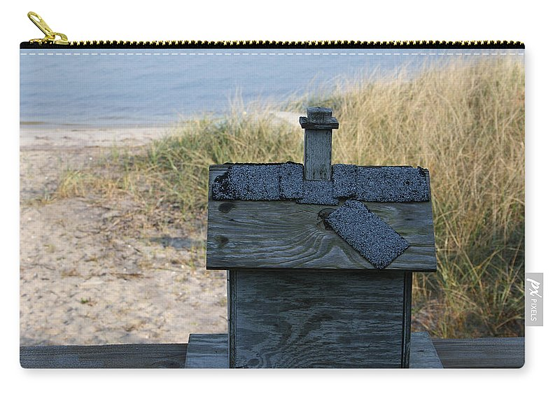 Bird House Carry-all Pouch featuring the photograph Casetta Per Uccellini by Tila Gun