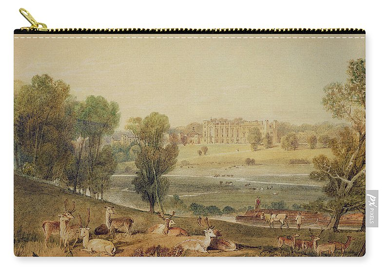 Landscapes Carry-all Pouch featuring the painting Cassiobury Park, Hertfordshire by William Havell