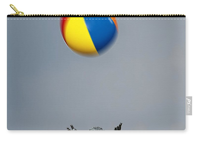 Funny Carry-all Pouch featuring the photograph Catch by Mal Bray