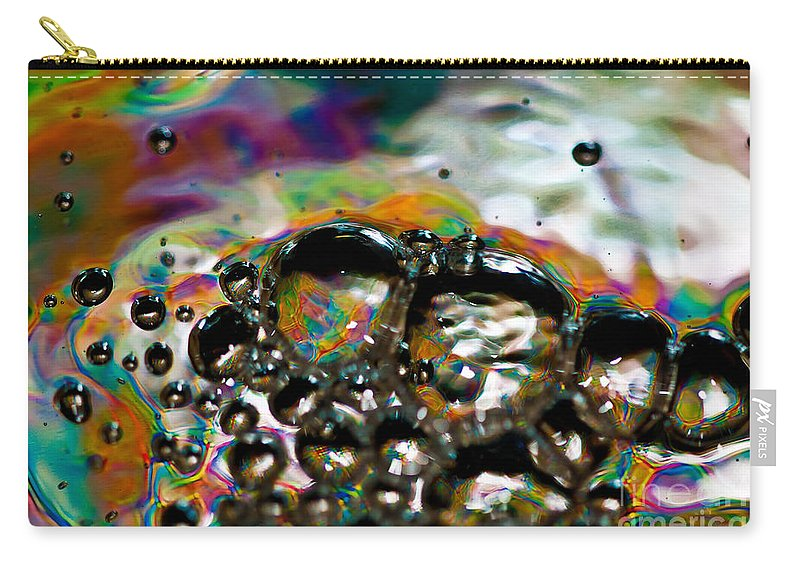 Abstract Carry-all Pouch featuring the photograph Caterpillar by Anthony Sacco