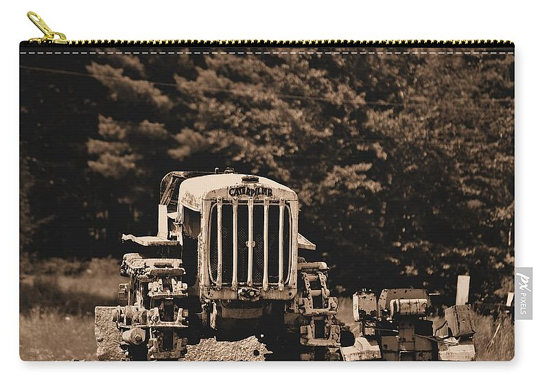 Caterpillar Carry-all Pouch featuring the photograph Caterpillar by Tara Potts
