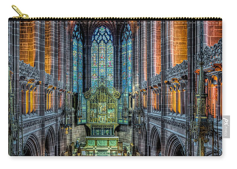 British Carry-all Pouch featuring the photograph Cathedral Chapel by Adrian Evans