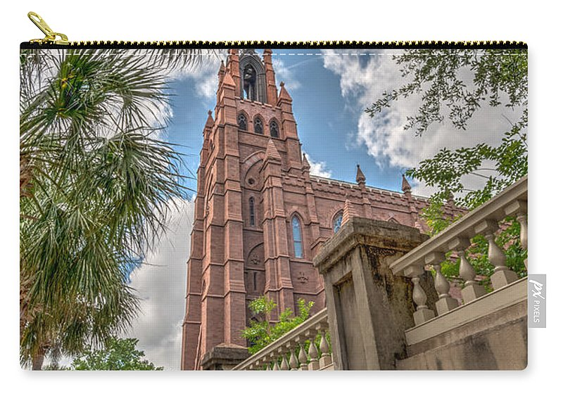 Church Carry-all Pouch featuring the photograph Cathedral Of St. John by Dale Powell