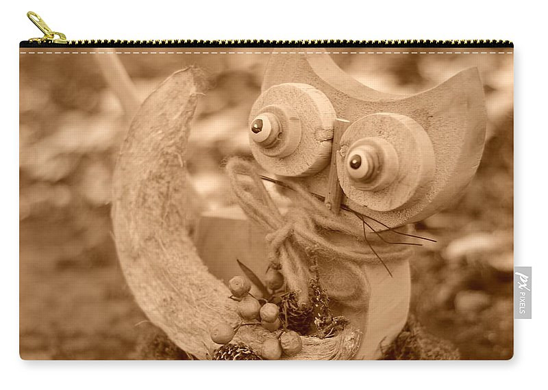 Cat Carry-all Pouch featuring the photograph Cats Eyes by Miguel Winterpacht