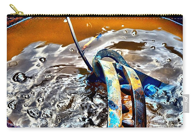 Abstract Carry-all Pouch featuring the photograph Cauldren by Lauren Leigh Hunter Fine Art Photography