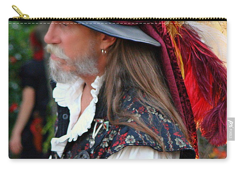 Fine Art Carry-all Pouch featuring the photograph Cavalier by Rodney Lee Williams