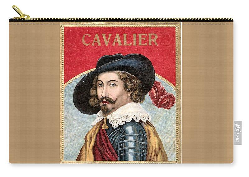 Studio Artist Carry-all Pouch featuring the digital art Cavalier by Studio Artist