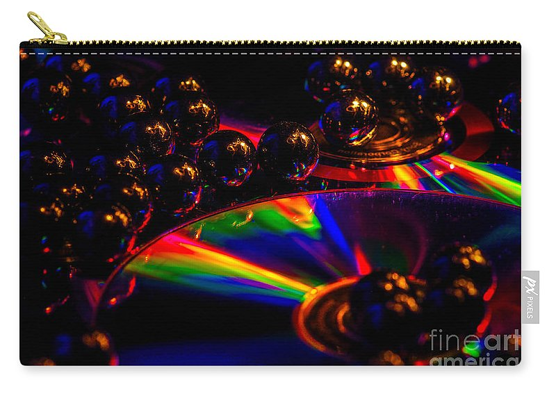 Carry-all Pouch featuring the photograph Cd Art 3 by Gerald Kloss