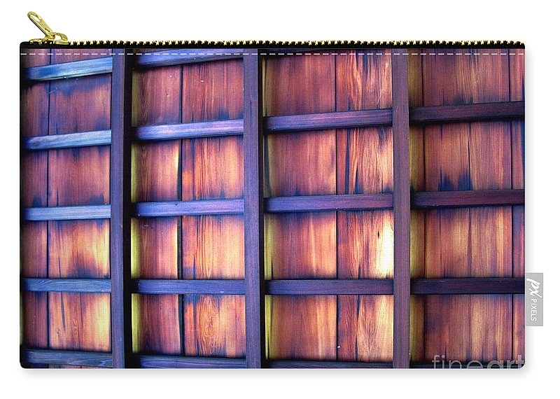 Philadelphia Carry-all Pouch featuring the photograph Ceiling At The Japanese House Philadelphia Usa by Ausra Huntington nee Paulauskaite