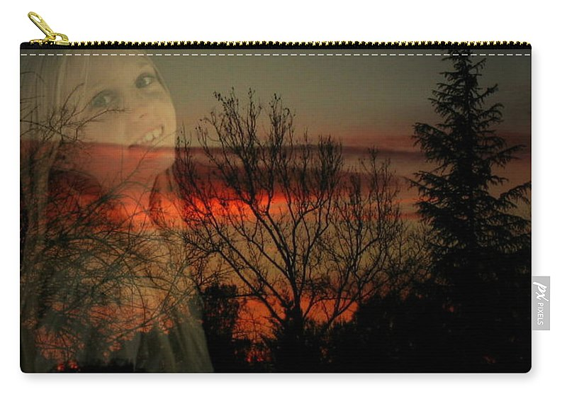 Custom Carry-all Pouch featuring the photograph Celebrate Life by Joyce Dickens