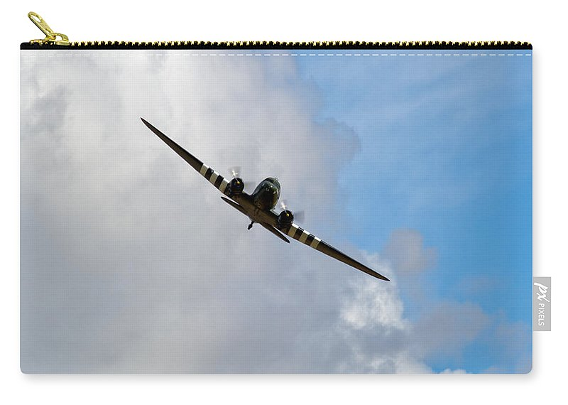Dc-3 Carry-all Pouch featuring the photograph Celebrated Workhorse by Gary Eason