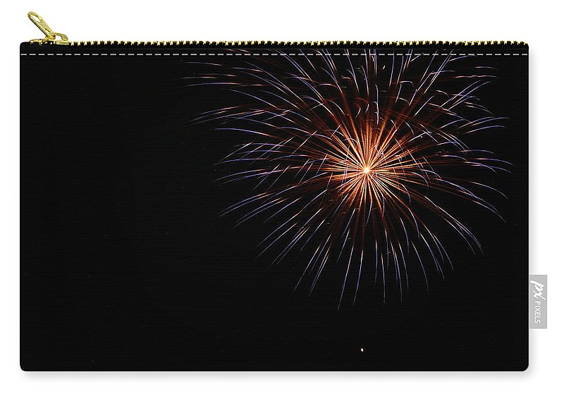 Fireworks Carry-all Pouch featuring the photograph Celebration Xliii by Pablo Rosales