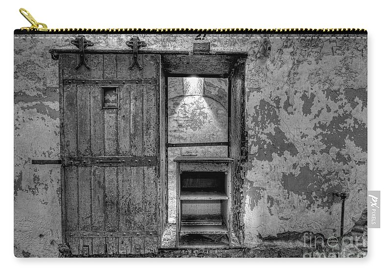 Pa Carry-all Pouch featuring the photograph Cell 27 by Michael Ver Sprill