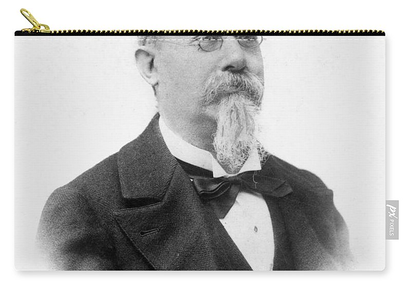 19th Century Carry-all Pouch featuring the photograph Cesare Lombroso by Granger