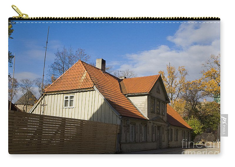 Travel Carry-all Pouch featuring the photograph Cesis by Jason O Watson