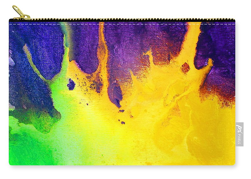 Changing Form Carry-all Pouch featuring the painting Change by Kume Bryant