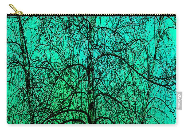 Abstract Carry-all Pouch featuring the photograph Change Of Seasons by Bob Orsillo