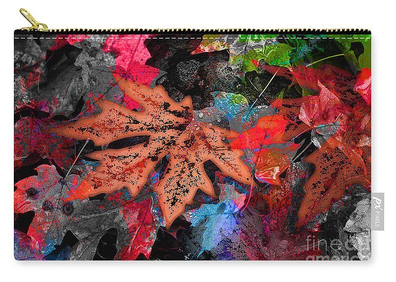 Digital Image Carry-all Pouch featuring the digital art Change by Yael VanGruber