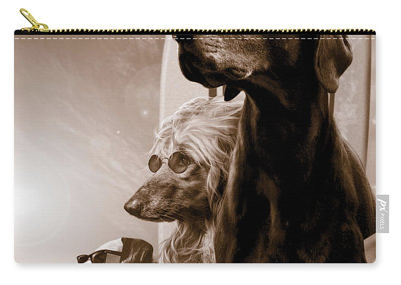 Animal Carry-all Pouch featuring the photograph Changes by MGL Meiklejohn Graphics Licensing