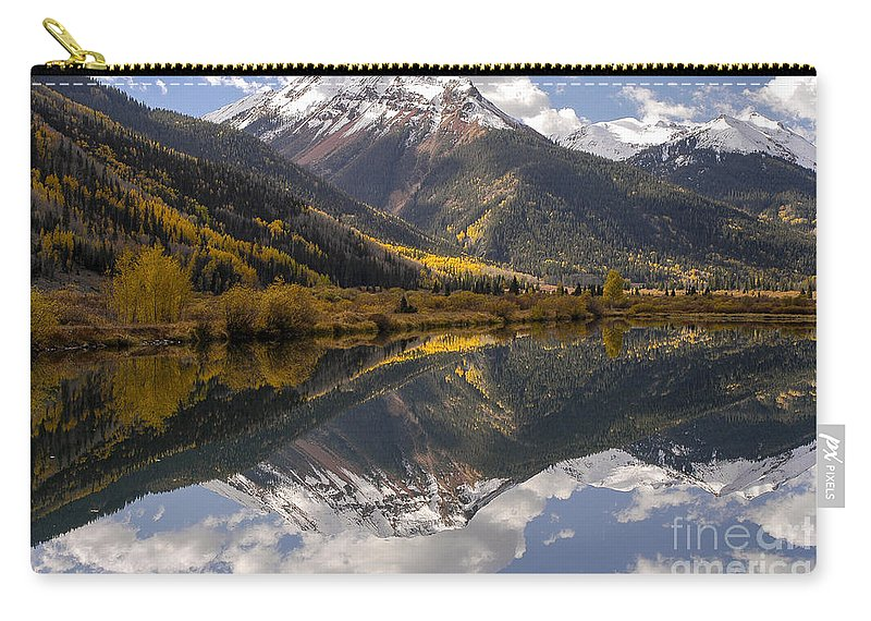 Lake Lanore Carry-all Pouch featuring the photograph Changing Seasons by Bob Phillips