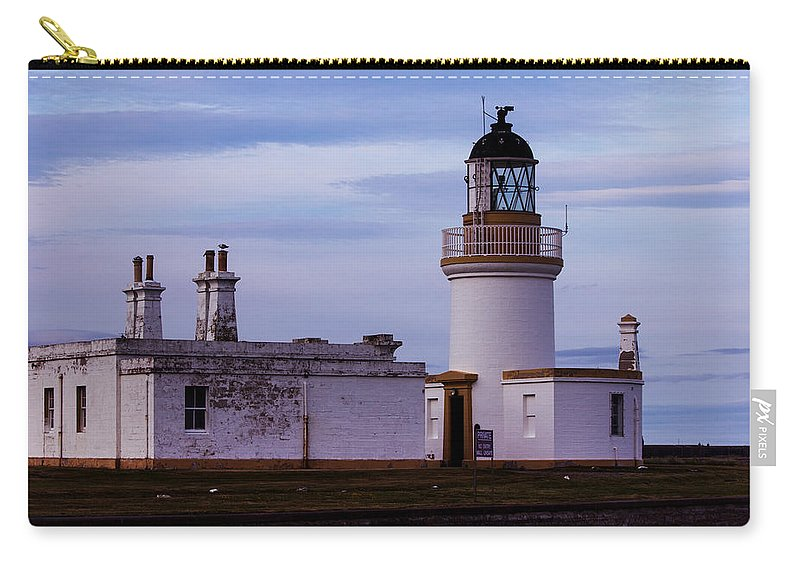 Lighthouse Carry-all Pouch featuring the photograph Chanonry Point Lighthouse by Roger Wedegis