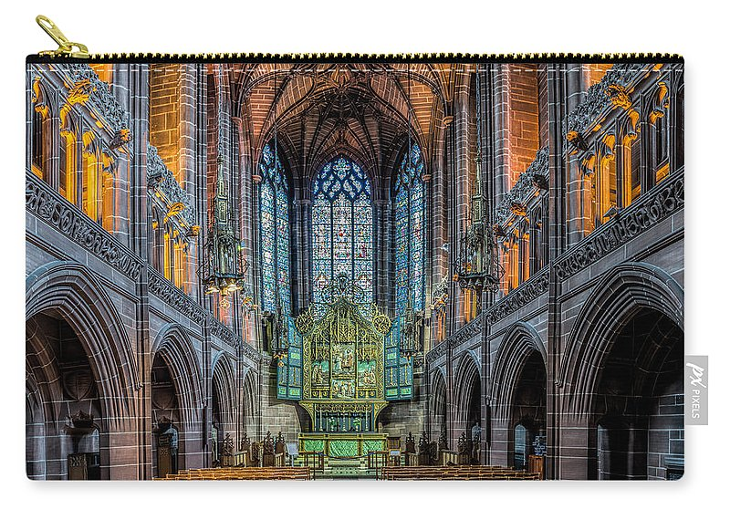 British Carry-all Pouch featuring the photograph Chapel by Adrian Evans