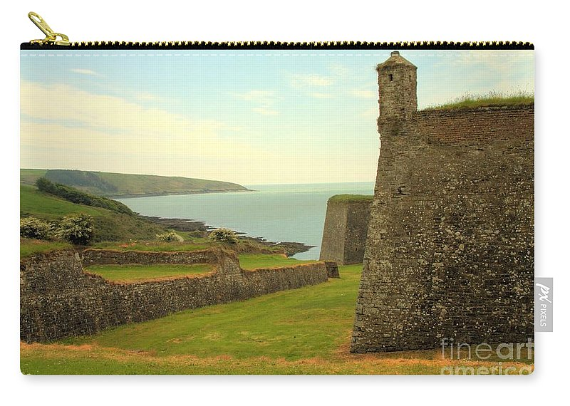 County Cork Carry-all Pouch featuring the photograph Charles Fort Kinsale by Jeremy Hayden