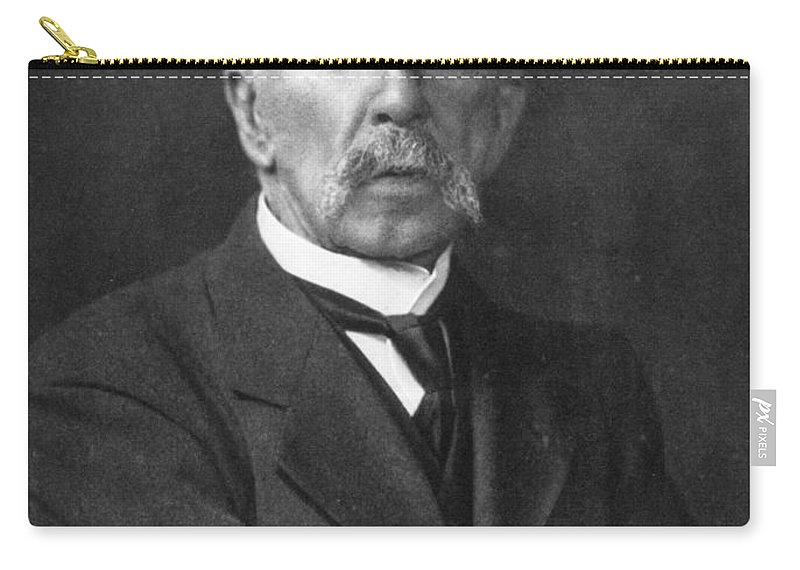 19th Century Carry-all Pouch featuring the photograph Charles R. Richet (1850-1935) by Granger