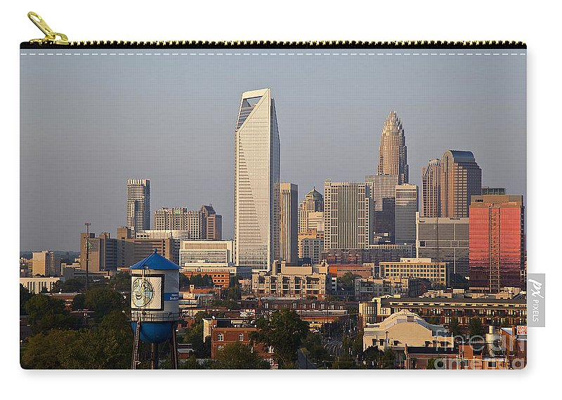 Skyline Carry-all Pouch featuring the photograph Charlotte In The Late Afternoon by Jill Lang