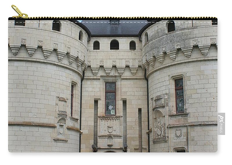Palace Carry-all Pouch featuring the photograph Chateau De Chaumont - France by Christiane Schulze Art And Photography