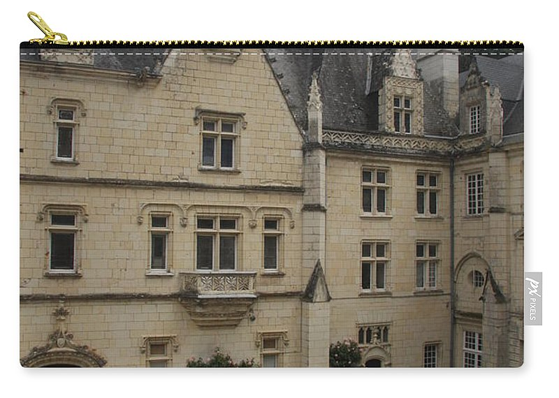 Palace Carry-all Pouch featuring the photograph Chateau D'usse by Christiane Schulze Art And Photography