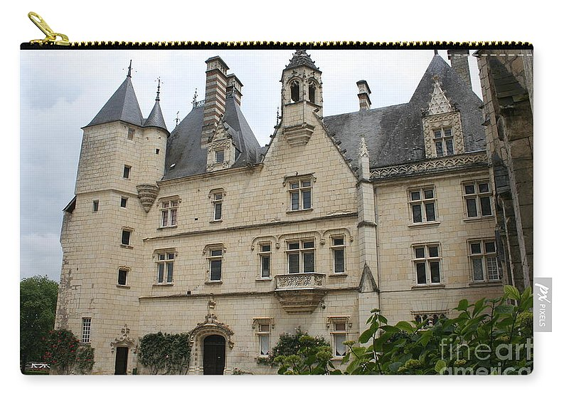 Palace Carry-all Pouch featuring the photograph Chateau Usse by Christiane Schulze Art And Photography