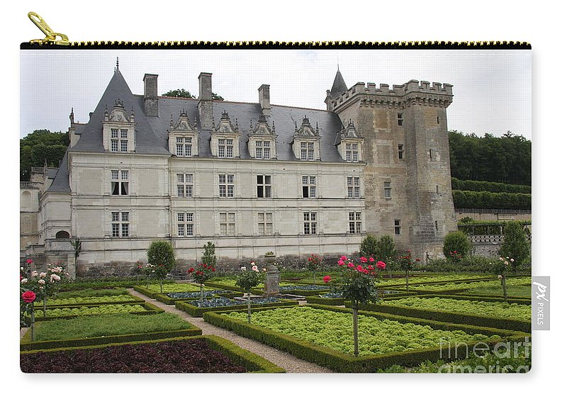Salad Carry-all Pouch featuring the photograph Chateau Villandry - Usefulness And Ornament by Christiane Schulze Art And Photography