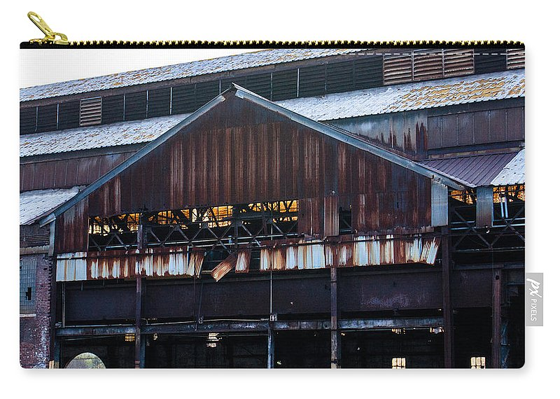 U.s. Carry-all Pouch featuring the photograph Chattanooga Pipe And Whetland Warehouse 12 by Douglas Barnett